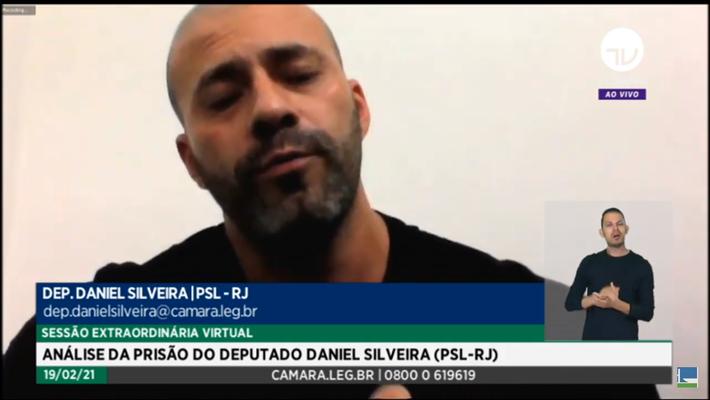 Daniel Silveira pediu desculpas e disse que se exaltou