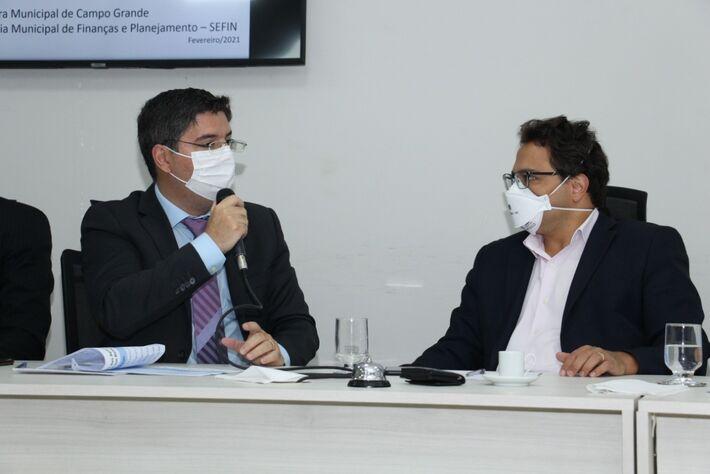 Dr. Victor Rocha e Secretário Pedro Pedrossian