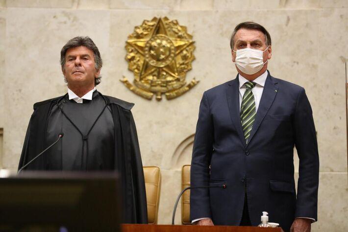 O Presidente Jair Bolsonaro participou, na manhã desta segunda-feira (1), da solenidade de abertura do Ano Judiciário 2021. O evento aconteceu no Supremo Tribunal Federal (STF)