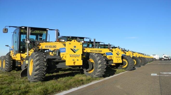 Ao todo 28 motoniveladoras serão distribuídas entre municípios de Mato Grosso do Sul