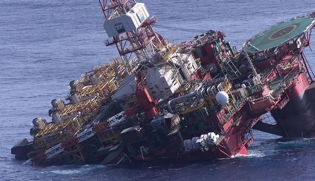 (Imagem ilustrativa) Maior plataforma de produção de petróleo em alto-mar, a P-36