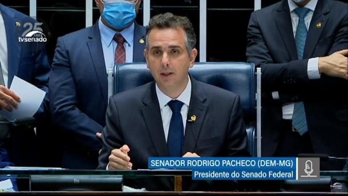 Senador Rodrigo Pacheco chega ao poder