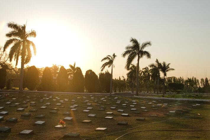Cemitério Jardim da Paz em Campo Grande