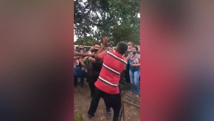 Situação ocorreu num cemitério em Cuiabá