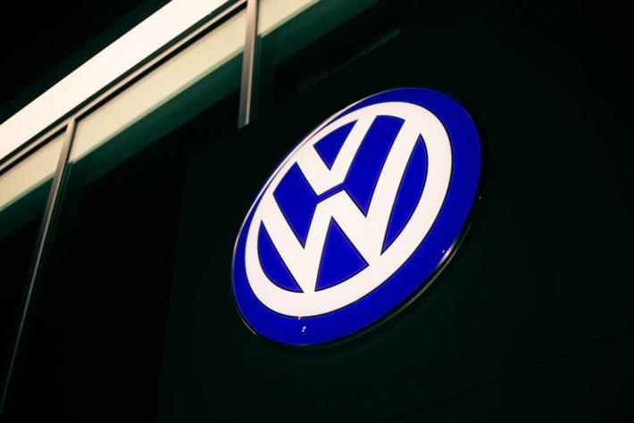 Logo dos carros novos Volkswagen