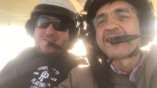 Eles tinham costume de fazer voos juntos