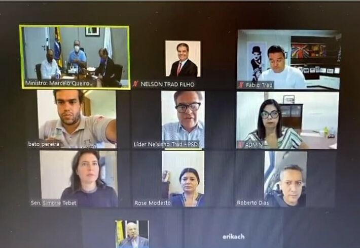 Reunião com o Ministro da Saúde, Marcelo Queiroga