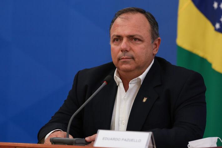 (Brasília - DF, 27/04/2020) Coletiva de imprensa com Ministro da Saúde, Eduardo Pazuello.