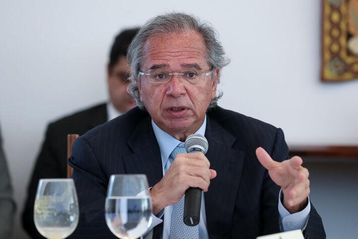 (Brasília - DF, 09/06/2020) Palavras do Ministro de Estado da Economia, Paulo Roberto Nunes Guedes.