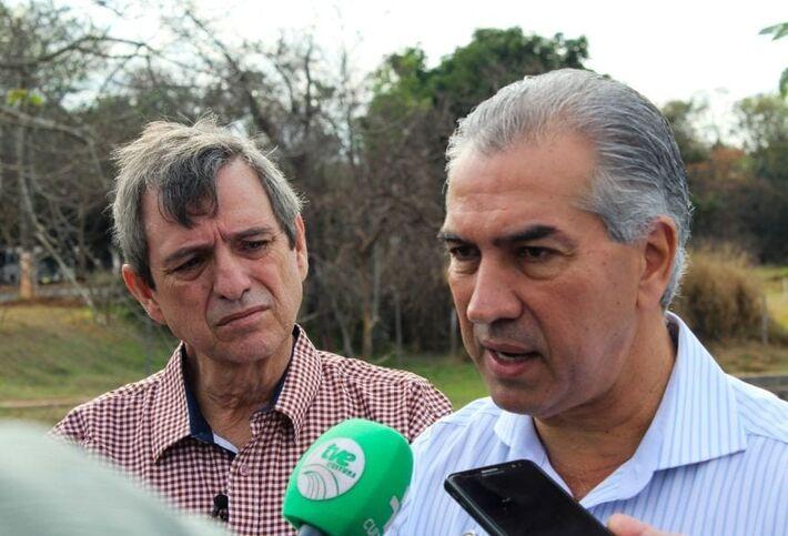 Reinaldo Azambuja publicou exoneração no Diário Oficial do Estado desta 2ª feira (1º.mar.2021)