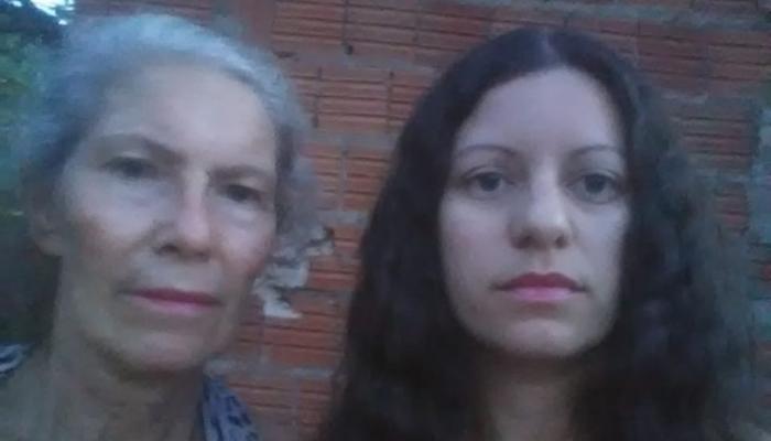 Essas são Maria e sua filha Suelma, moradoras do bairro Jardim Anache em Campo Grande