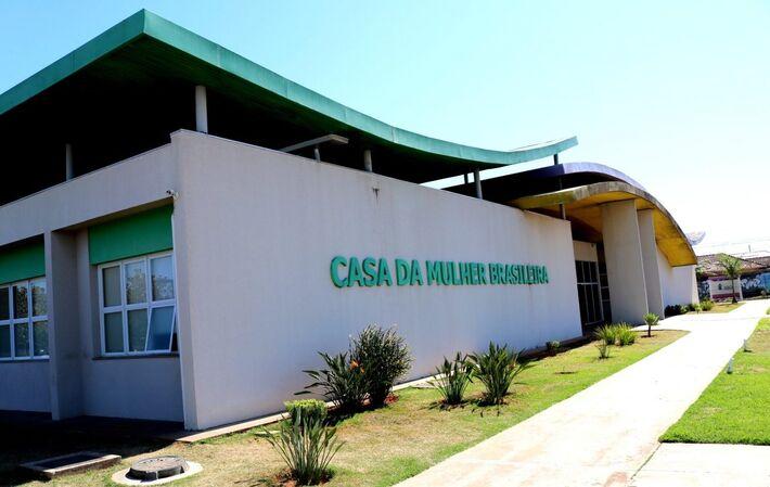Delagacia da Mulher no prédio da Casa da Mulher Brasileira em Campo Grande