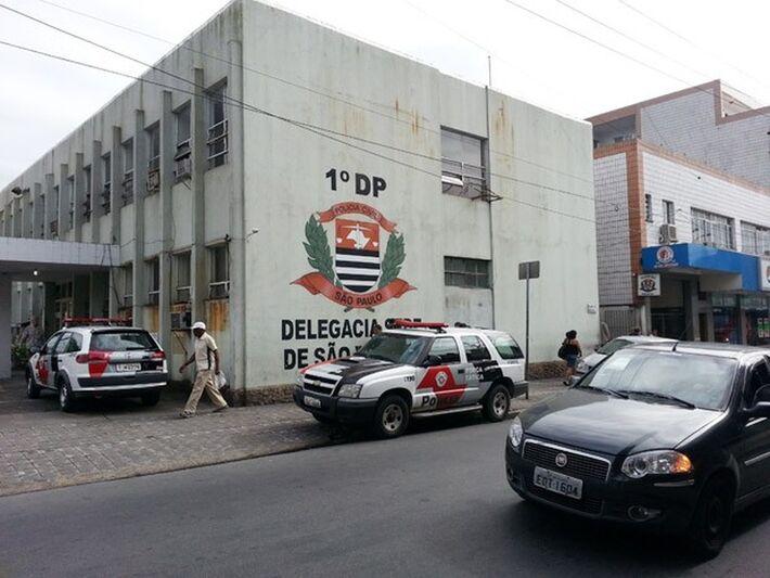 Caso foi registrado na Delegacia Sede de São Vicente.