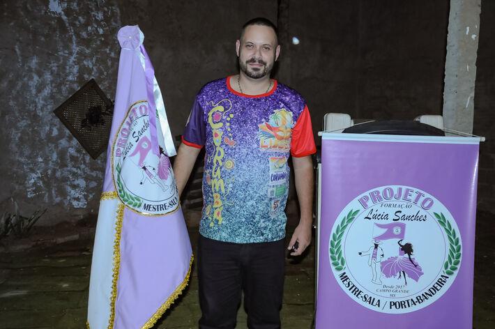 Victor Raphael de Almeida, Presidente da Liga Independente das escolas de samba de Corumbá  (LIESCO -MS)