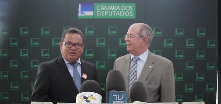Edinho Neves e  o Dep, Federal Hildo Rocha