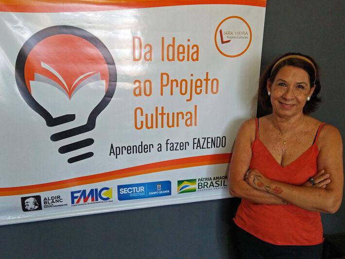 Idealizadora do projeto, Iara