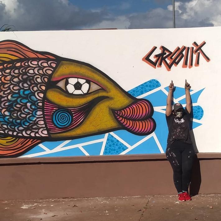 Marilena Grolli inaugura nova obra no Vila Nasser, em Campo Grande