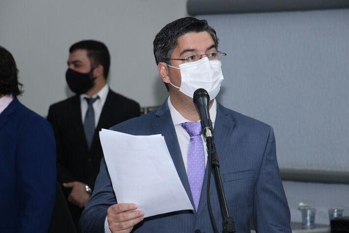 Vereador Victor Rocha