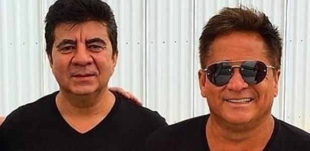 Milton Rodrigues, o Passim, e o cantor Leonardo
