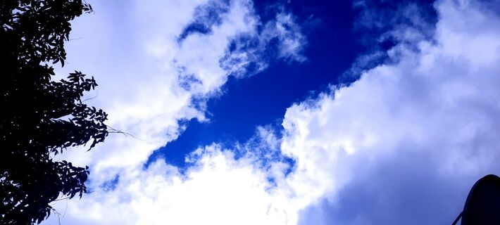 Céu em Campo Grande durante a manhã deste 1º-março