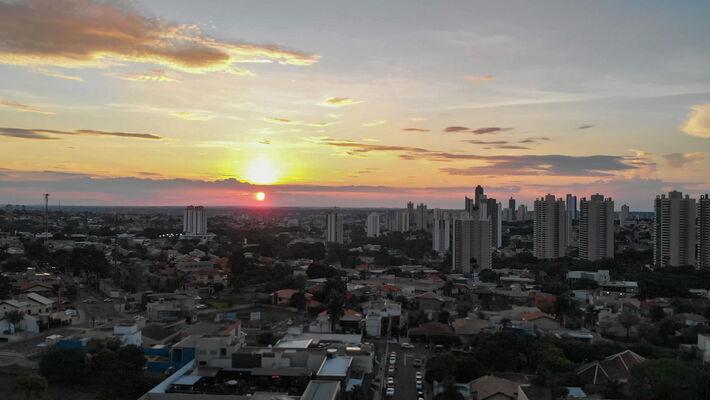 Pôr-do-Sol em Campo Grande (MS)