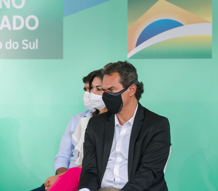 O prefeito de Campo Grande - Marquinhos Trad