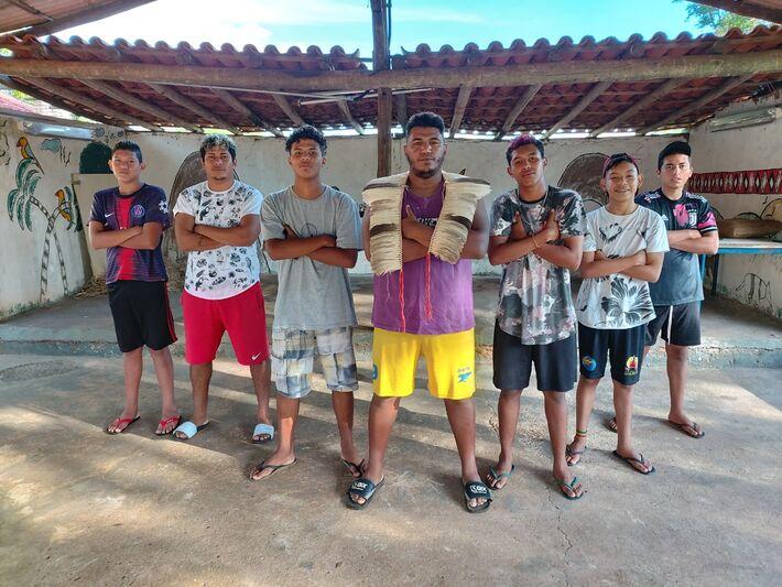Equipe de Free Fire da Copa das Aldeias