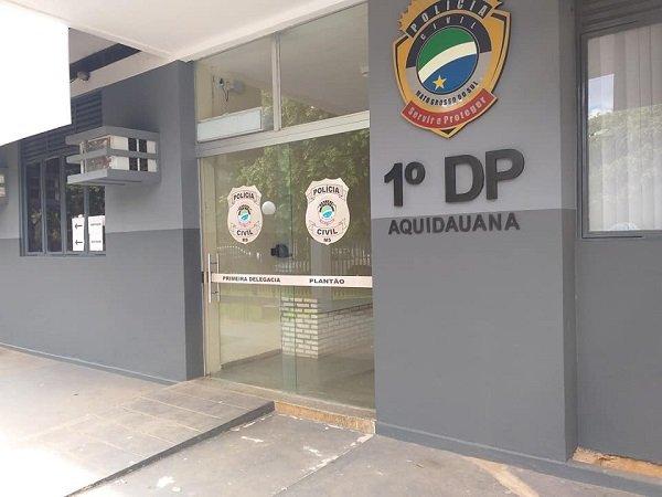 1º Delegacia de Polícia Civil de Aquidauana.
