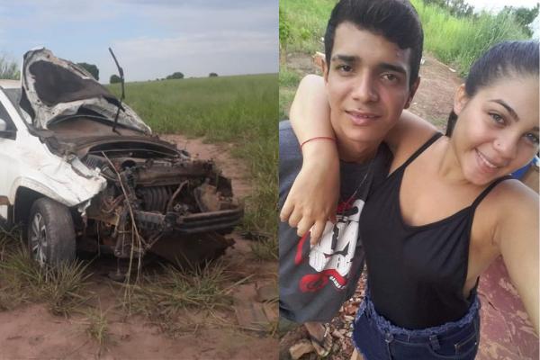 Casal morreu ao ser atingido pelo Fiat Toro