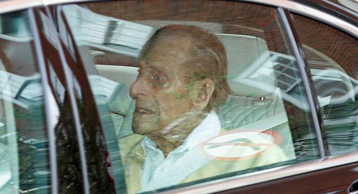 Philip teve alta no dia 16 de março, após passar um mês internado, para tratar uma infecção, não especificada na época.