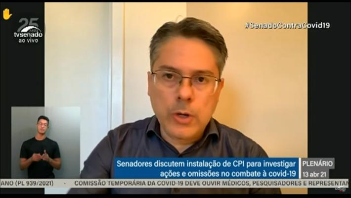 Senado debate abertura da CPI da Pandemia