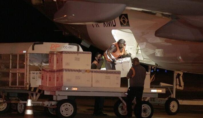 Carregamento vindo na noite de ontem (15.abr.2021) tirou Cidade Morena da situação que vivem hoje quatro outras cidades do Brasil
