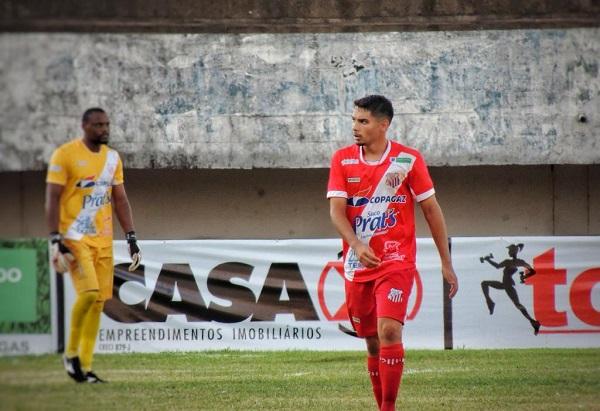 Meio de campo do Comercial marcou seu primeiro gol pelo Colorado na 8ª rodada do sul-mato-grossense