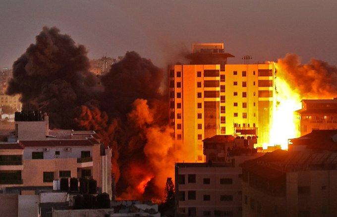 Míssel atingiu centro de Tel Aviv.