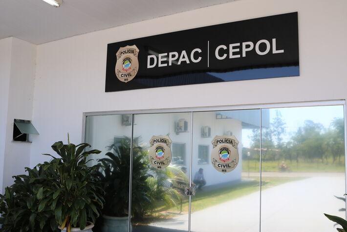 Delegacia de Polícia do Cepol - Campo Grande.