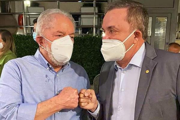 Esses são: Vander Loubet e Luiz Inácio Lula da Silva (Lula).