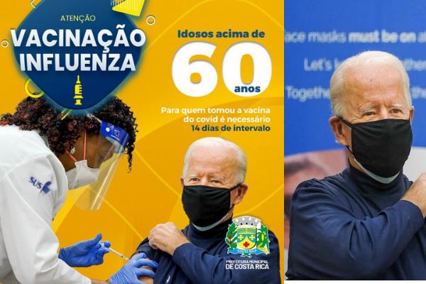 A prefeitura municipal de Costa Rica rapidamente tirou do ar a campanha.