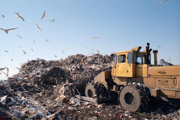 Lixões no Brasil.