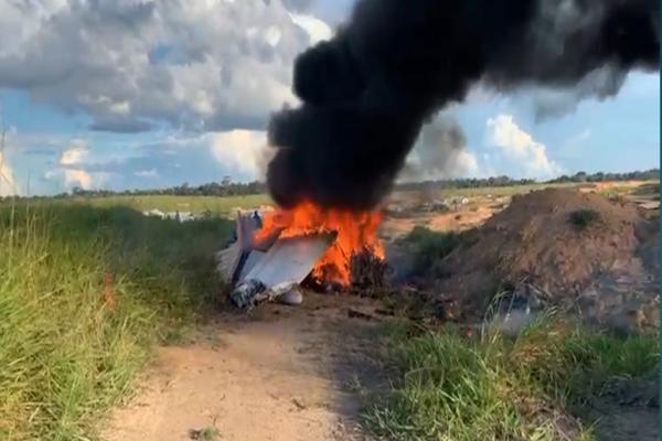 Ribinha morre em queda de av ião no interior do Pará.