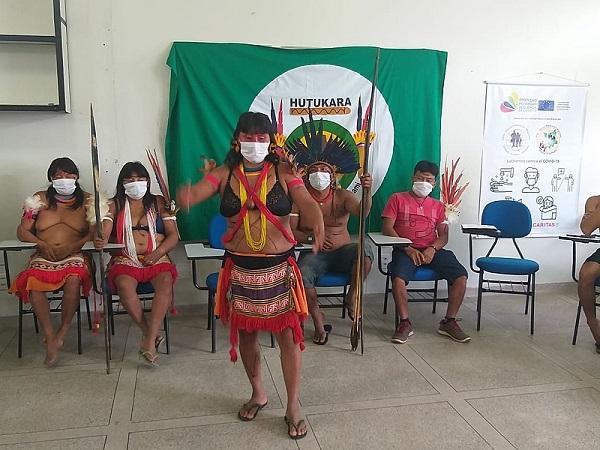 Ataques foram contados por líderes indígenas, durante conversa com a imprensa e MPF, em 16.mai.2021, um dia antes do ataque com gás lacrimogênio.