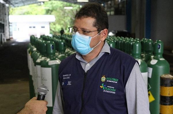 Marcellus Campelo foi secretário de saúde durante a crise de abastecimento de oxigênio em Manaus