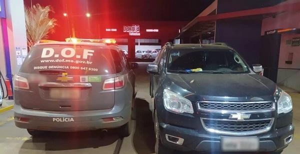 Veículo foi roubado ontem (15.jun.2021) e apreendido na madrugada de hoje (16.jun.2021)