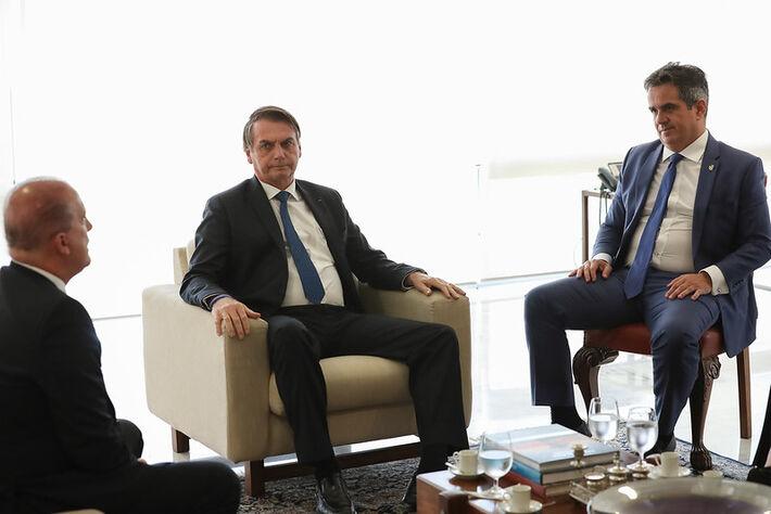 Audiência com Ministro-Chefe da Casa Civil, Onyx Lorenzoni e Senador Ciro Nogueira (PP-PI), Presidente Nacional do PP. Brasília - DF, 04/04/2019. Foto: Marcos Corrêa/PR