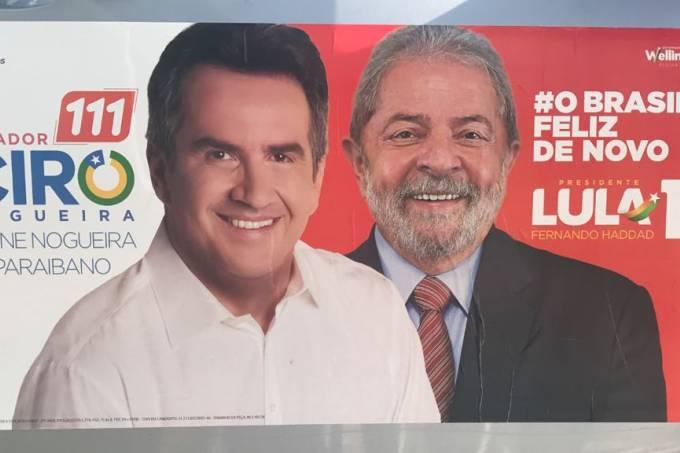 Este é Ciro Nogueira, usando o nome de Lula para se eleger em 2018.