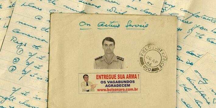 Carta de Jair Bolsonaro.