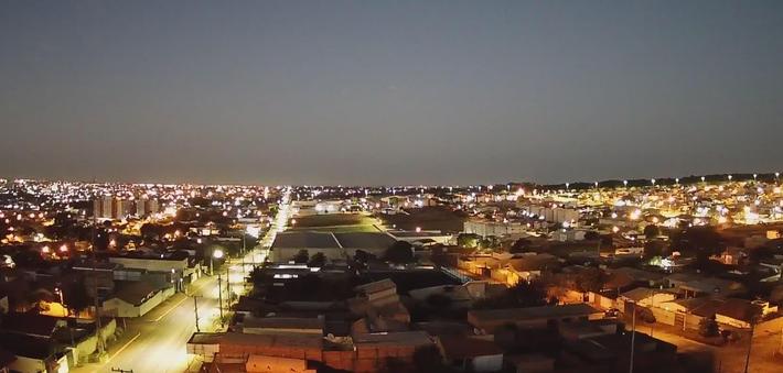 Céu de Campo Grande - MS.