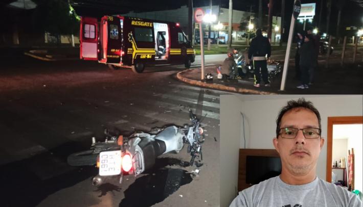 A foto do acidente é do fotojornalista Sidney Bronka - do site Ligado na Notícia.