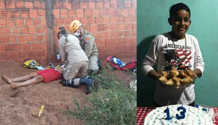 Adolescente não resistiu aos ferimentos. A foto com a os socorristas é do Sidnei Bronka do site Ligado Na Notícia