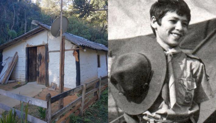 Escoteiro Marco Aurélio Simon desapareceu aos 15 anos em 1985 no Pico dos Marins em Piquete (SP)  Foto: Arquivo pessoal