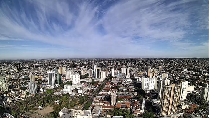 Céu de Campo Grande neste dia 20 de julho.